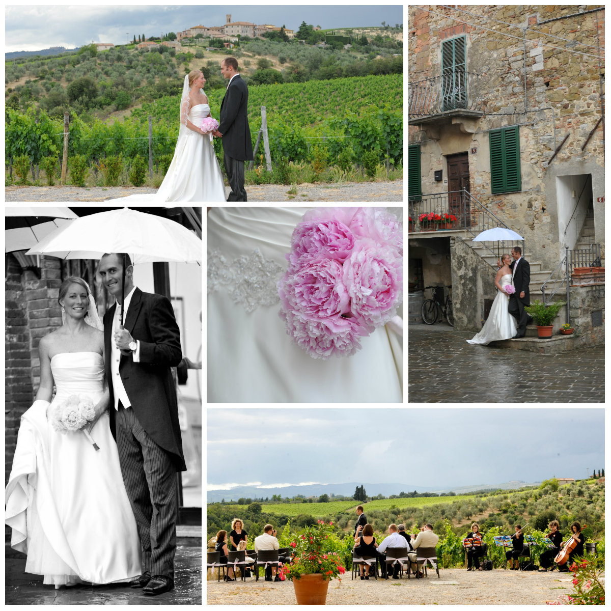 K % I Chianti wedding