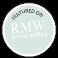 Featured on Rock My Wedding wedding Blog
