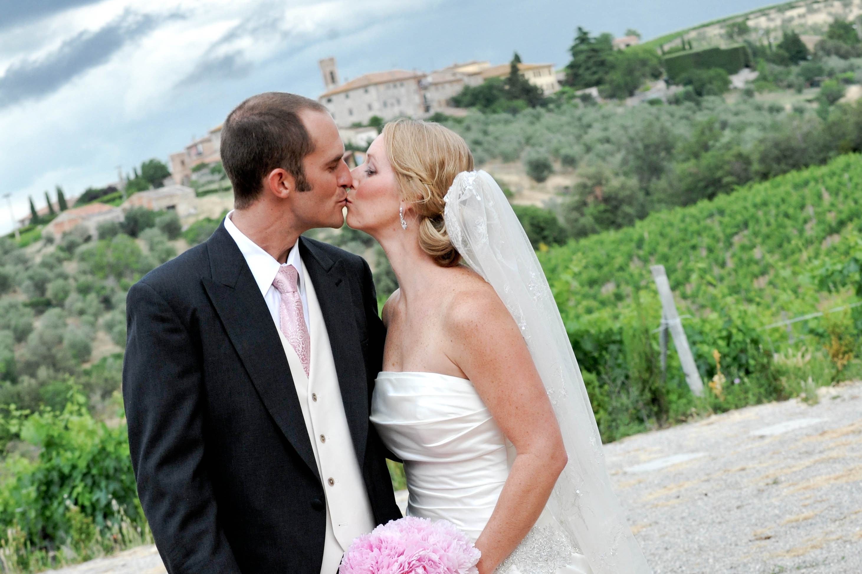 Just married in CHianti Classico