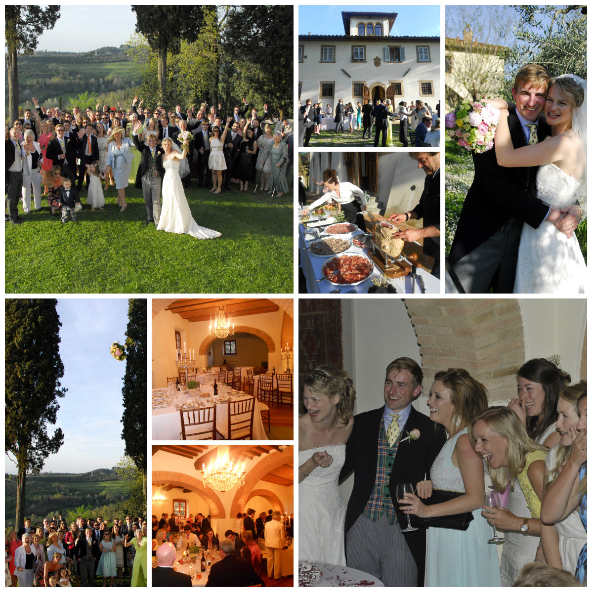Wedding in a Tuscan farm