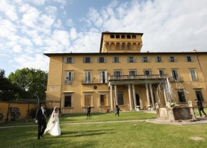 Florence historical wedding villa