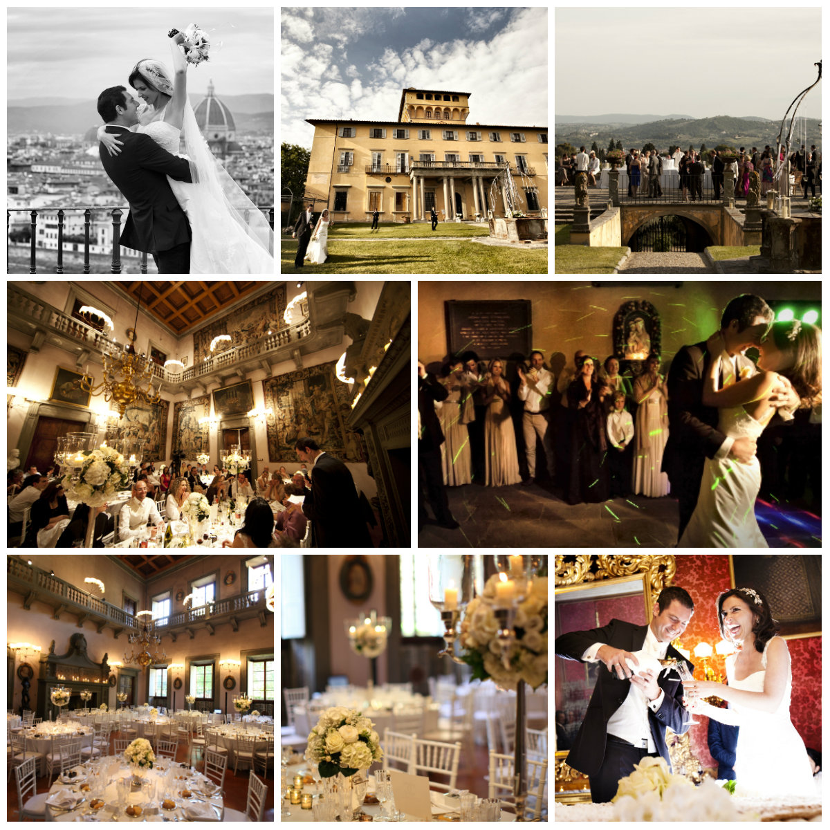 Wedding in Fiesole villa
