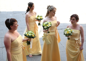 yellow wedding colour theme