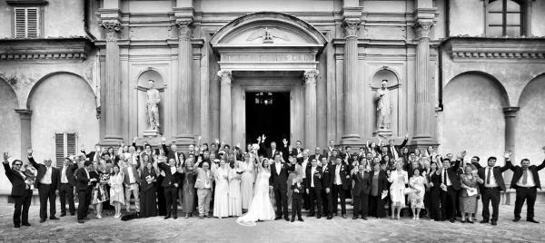 Wedding day in Florence