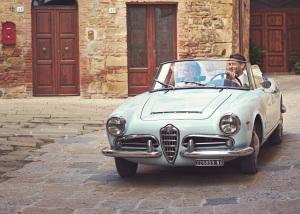 Alfa Romeo Giulia Vintage car