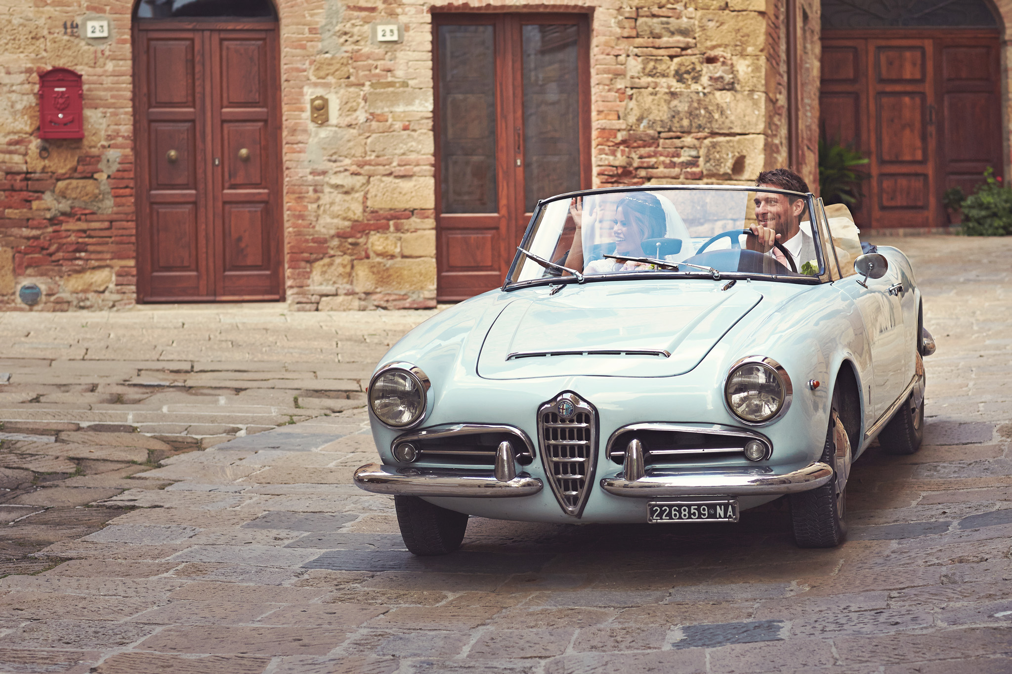 Wedding Cars | Wedding in Tuscany