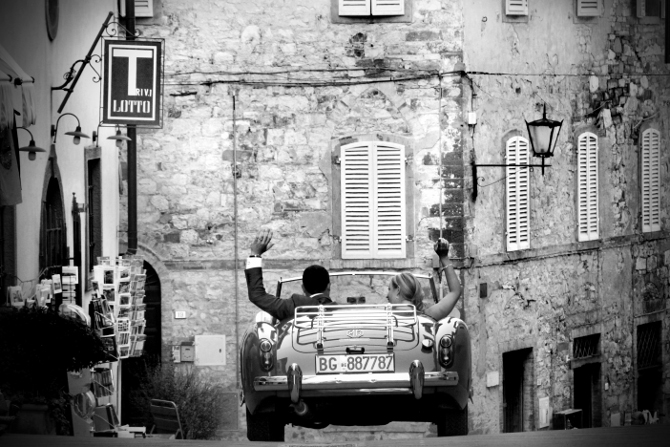 Run away with me in Tuscany