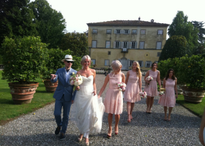 Grand wedding villa in Lucca