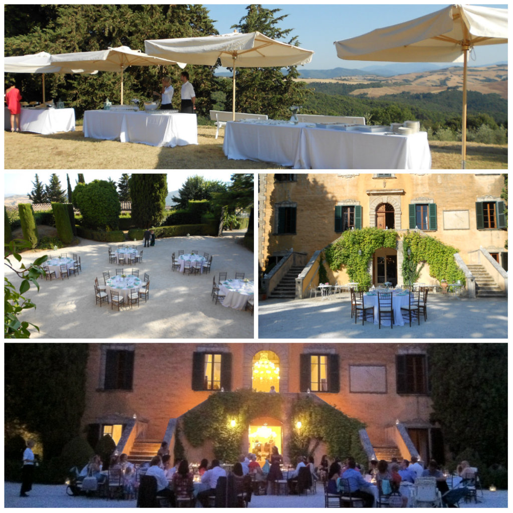 Wedding Reception in Volterra