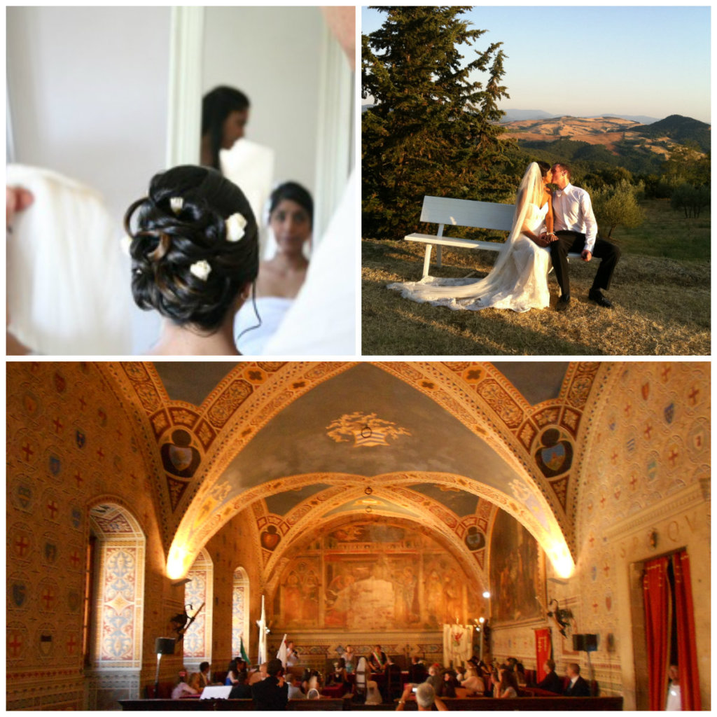 Wedding Ceremony in Volterra