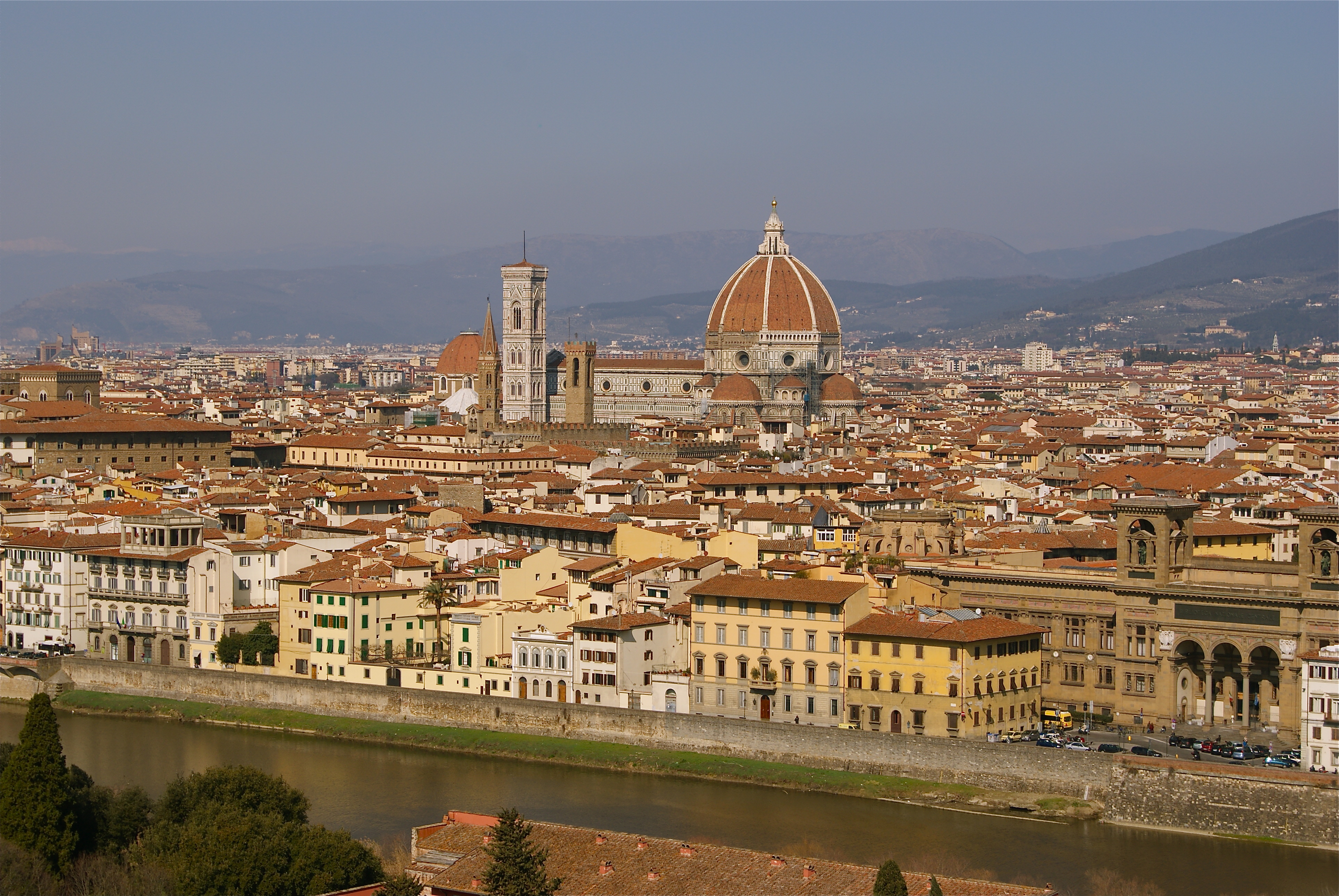 Italian Florence: Romantic Spots In Florence With A View