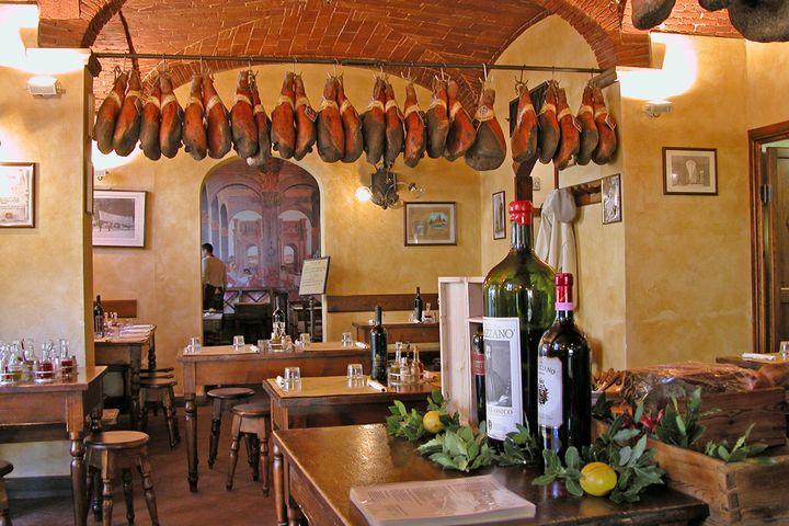 Florence restaurant Antico Ristoro di Cambi