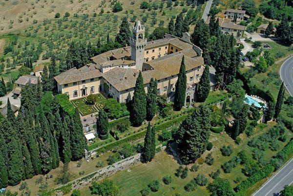Renaissance castle Florence countryside