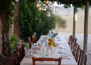 Wedding Dinner in rustic farm in Tuscany