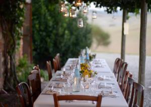 Wedding Dinner in rustic farm in Tuscany