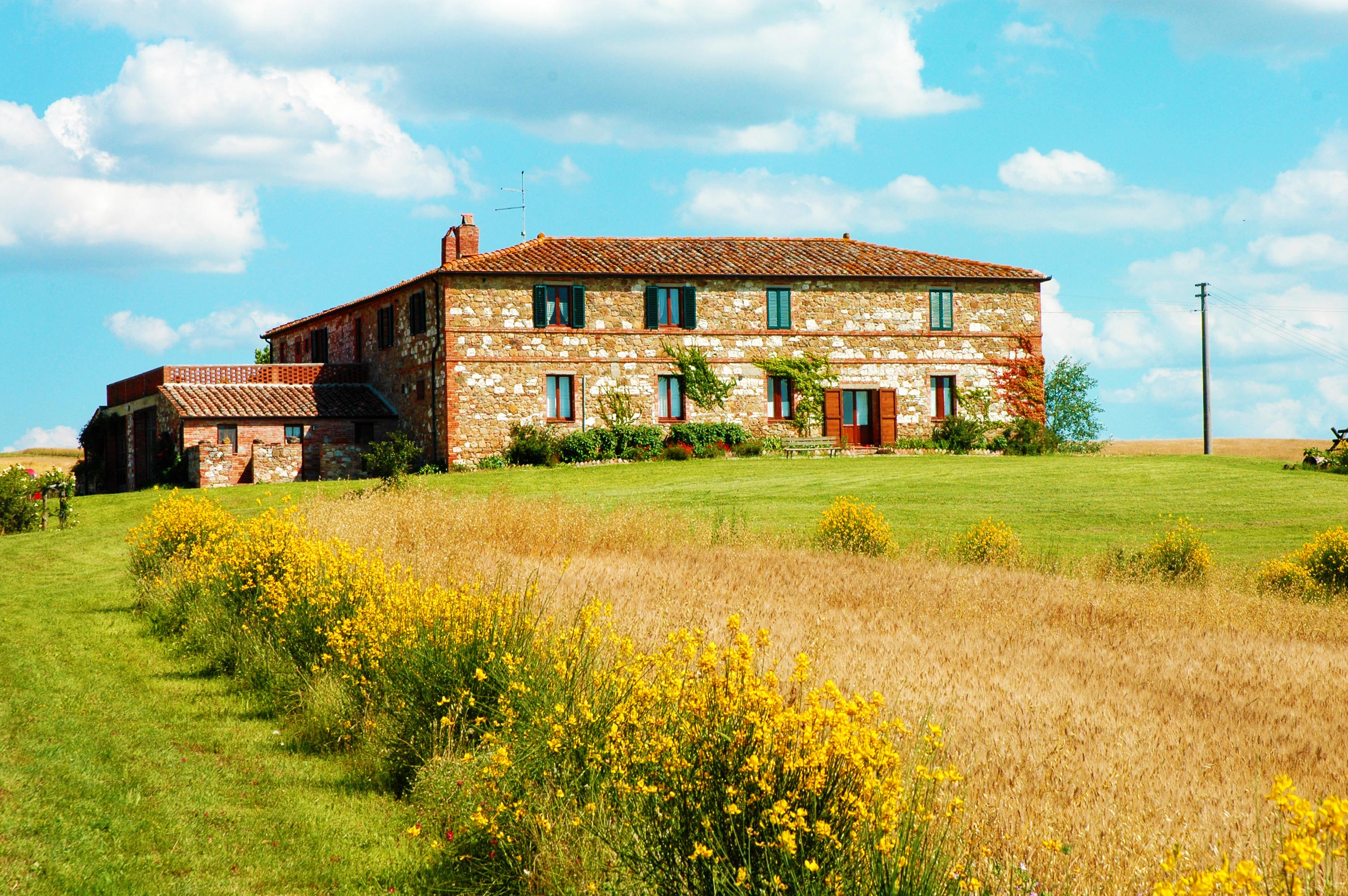 Rustic farm in val d Orcia Tuscany
