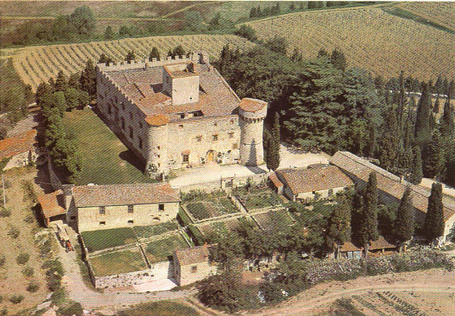 Chianti castle village