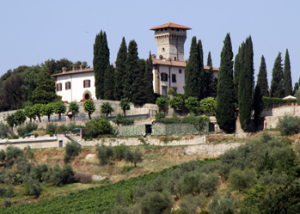 Romantic Chianti castle