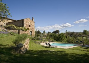 Rustic villa in southern Tuscany