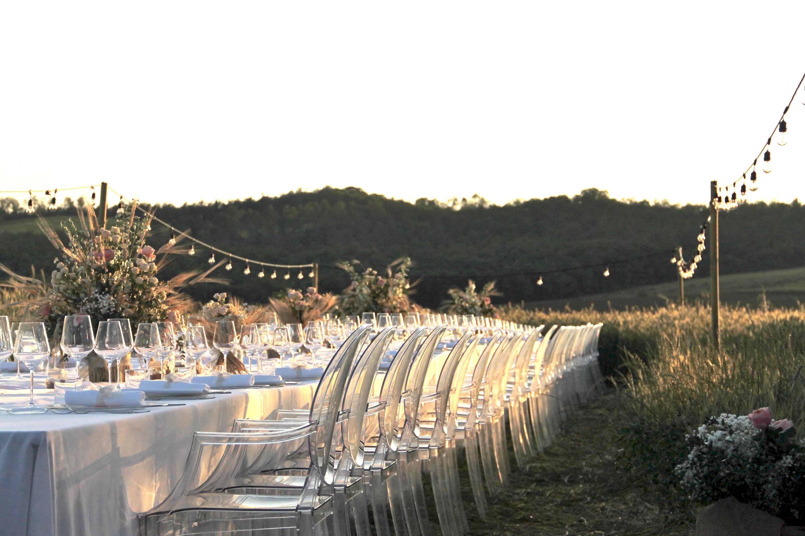 Wedding in Tuscan farm in Siena