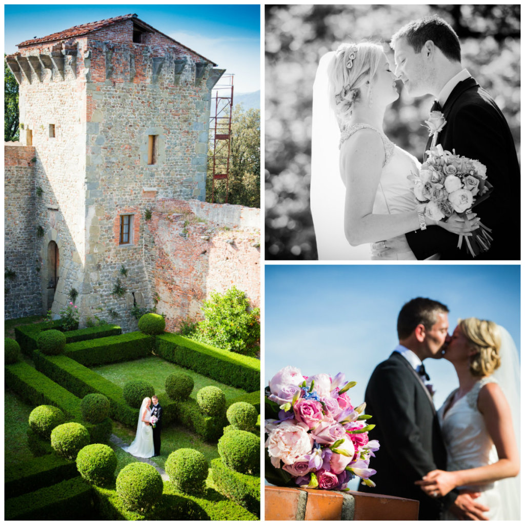 Bright summer wedding in Lucca