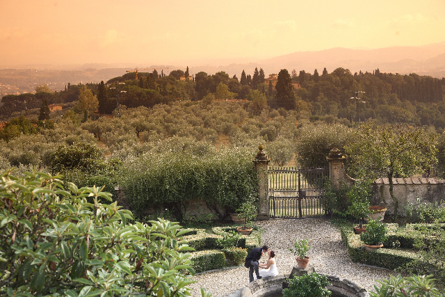 Wedding in Fiesole, Florence