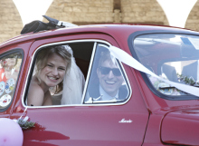 Just married in Italy