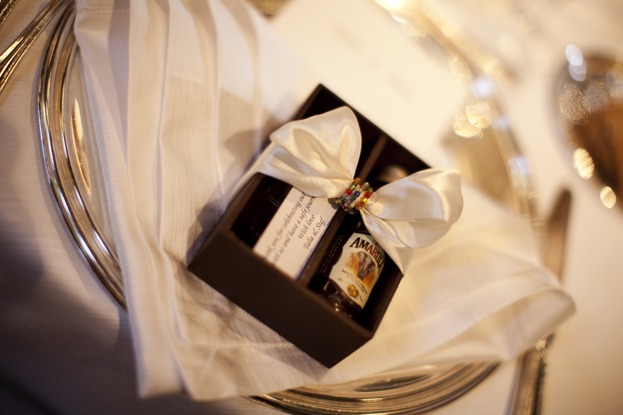 Guests wedding favours