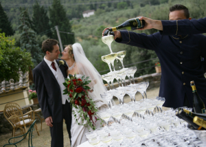 Prosecco wedding toasts
