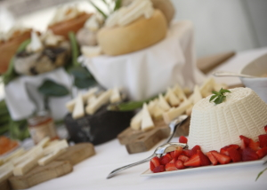 Tuscan Pecorino cheese buffet