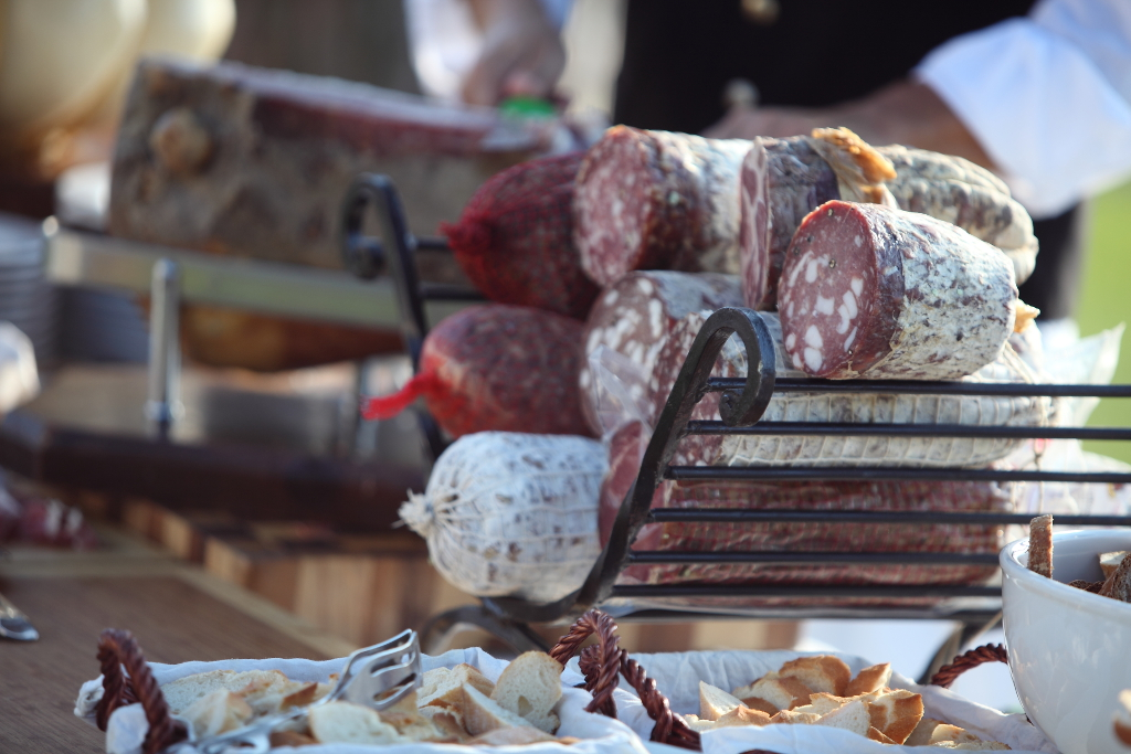 Tuscan cured meats and salami