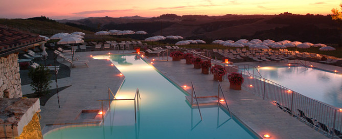 Thermal baths in Tuscany