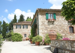 ustic farm in Chianti region