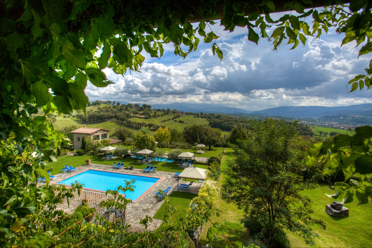 Country hamlet in Casentino