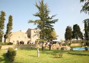 Medieval hamlet in San Gimignano Tuscany