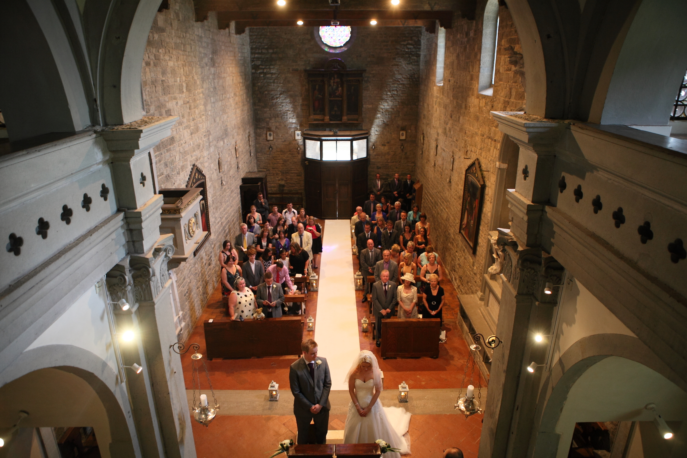 Wedding in Florence church