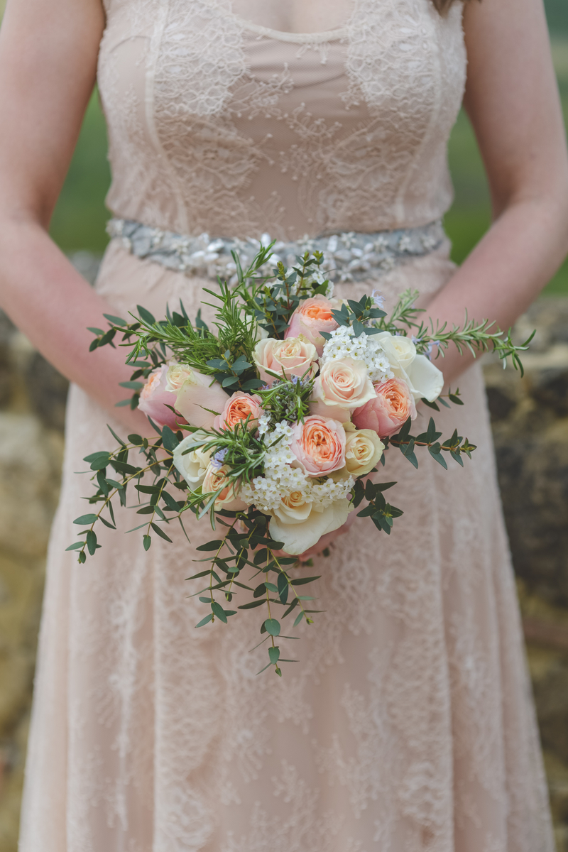 Peachy bouquet