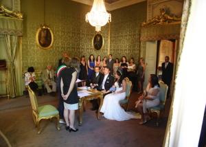 Lucca wedding ceremony