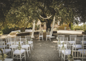 Ceremony location in Tuscany