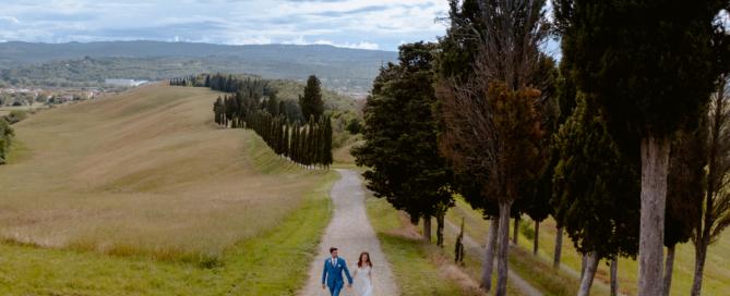 Wedding in Certaldo Tuscany