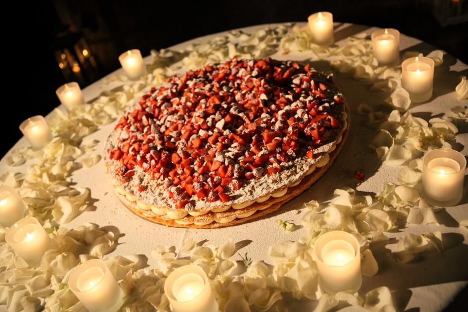 Italian mille foglie wedding cake