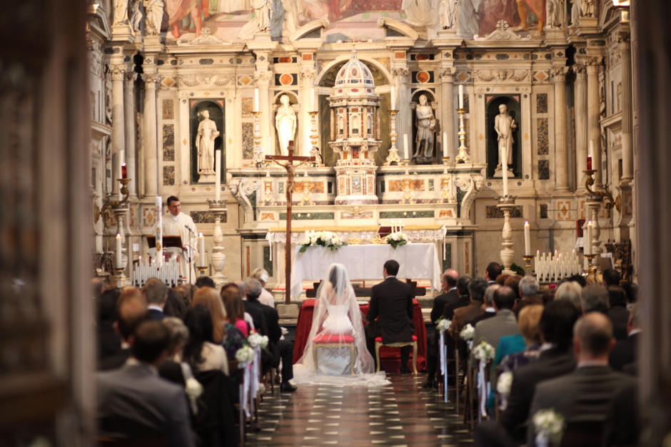 Stunning church for wedding ceremony