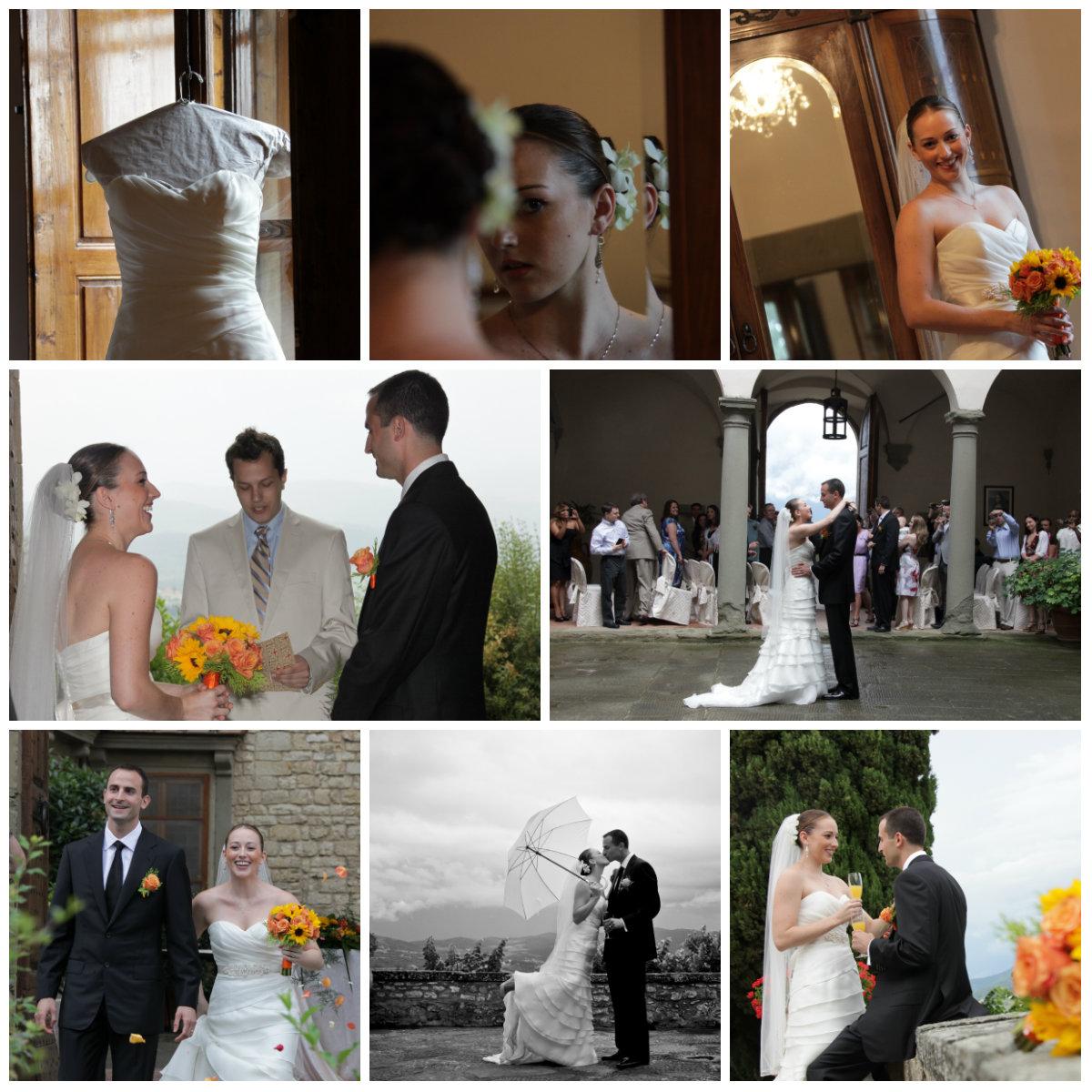 Wedding in chianti castle