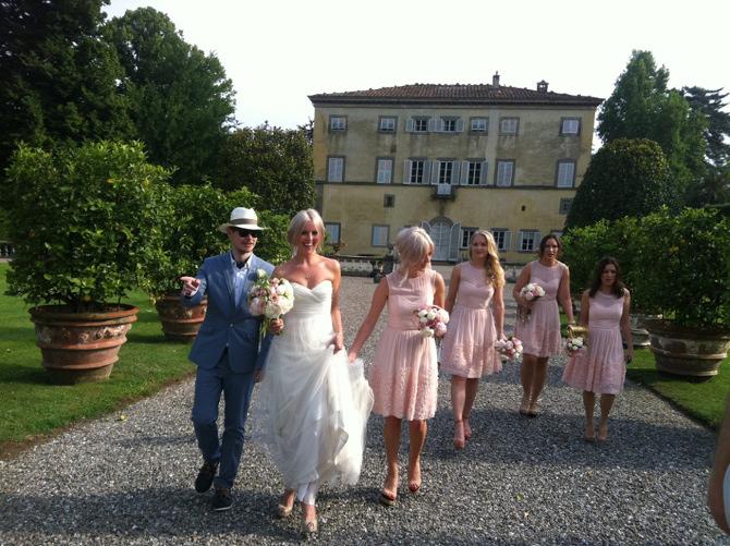 Grand wedding villa in Lucca