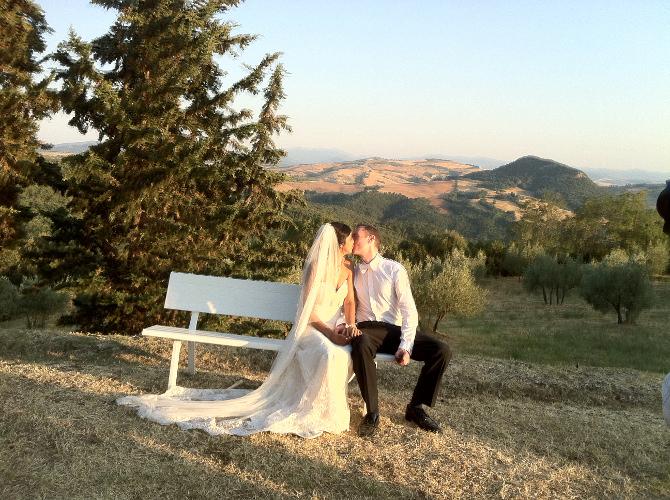 La Dolce Vita Wedding in Tuscany