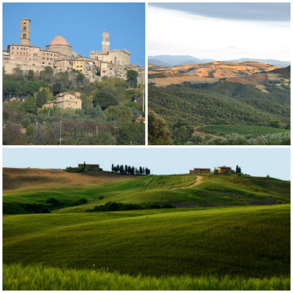Volterra one of the most beautiful hillside towns in tuscany