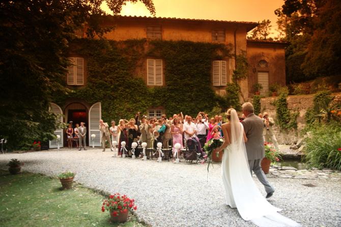 Wedding venue in Lucca