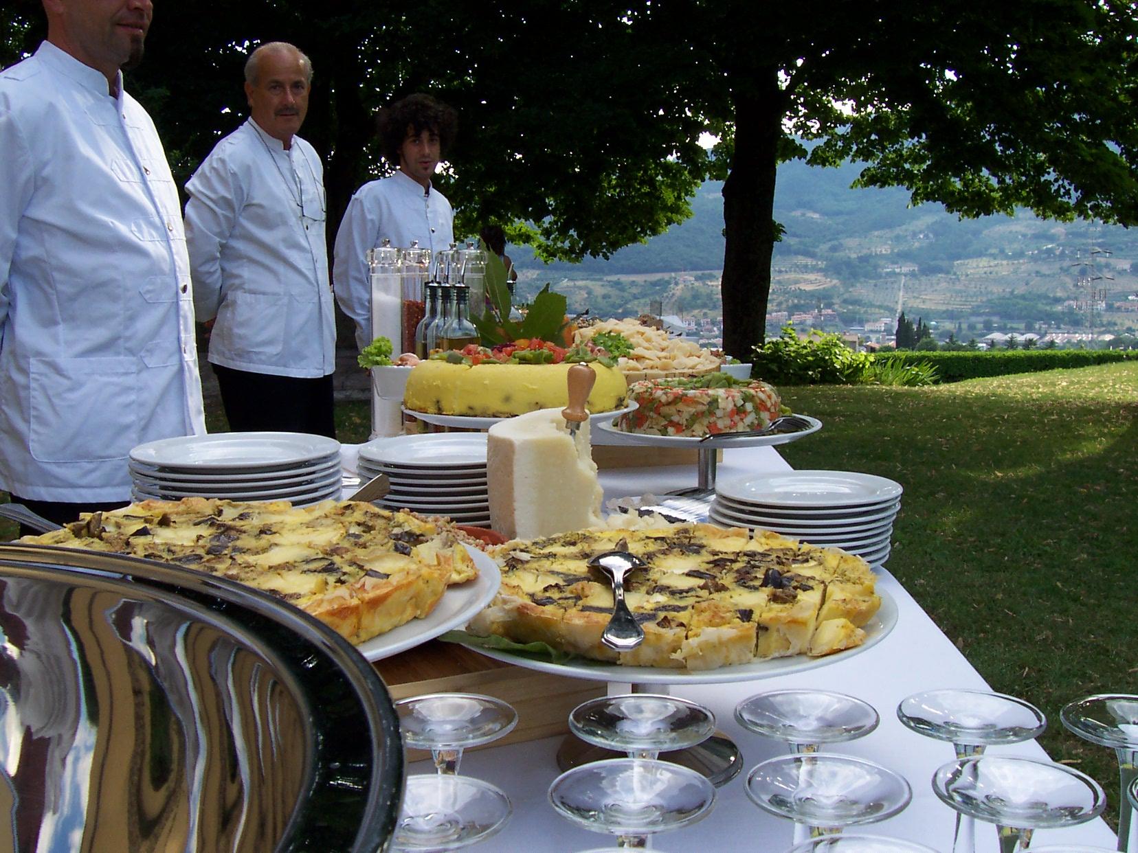 Italian wedding Aperitivo