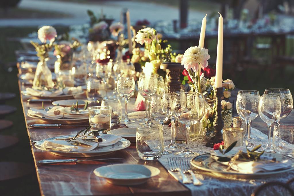 Tuscan wedding flowers