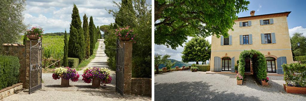 Wedding villa in Montepulciano